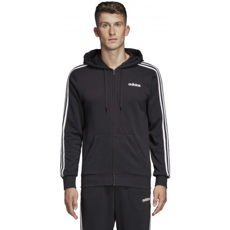 Men's hoodie - adidas E 3S FZ FT - 4