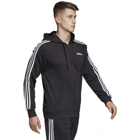 Men's hoodie - adidas E 3S FZ FT - 6