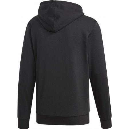 Men's hoodie - adidas E 3S FZ FT - 2