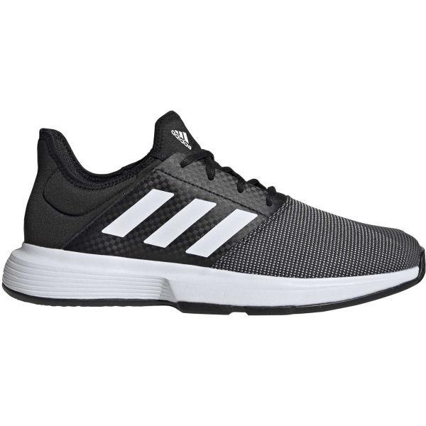 adidas GAMECOURT M czarny 11.5 - Obuwie tenisowe męskie