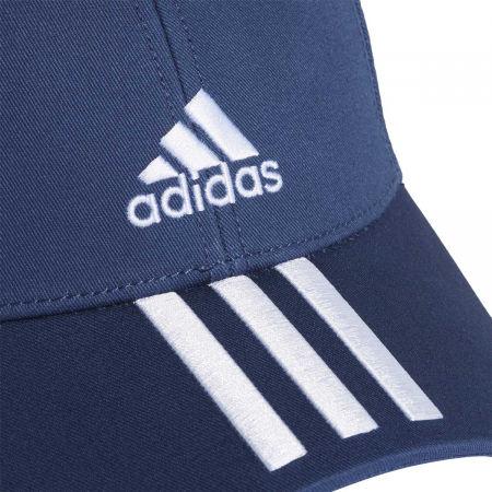 Kšiltovka - adidas BASEBALL 3 STRIPES CAP COTTON - 4