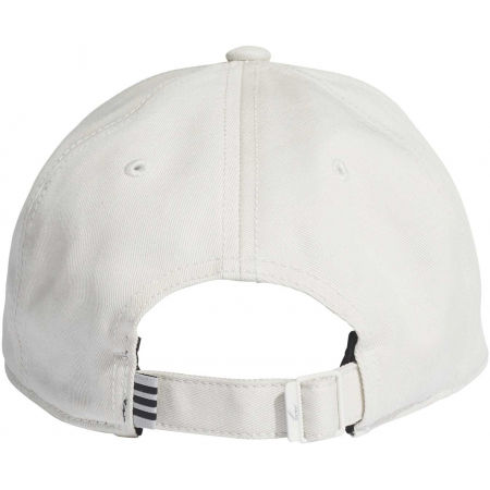 Baseball cap - adidas BASEBALL 3 STRIPES CAP COTTON - 3