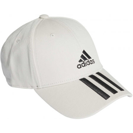 Baseball cap - adidas BASEBALL 3 STRIPES CAP COTTON - 1