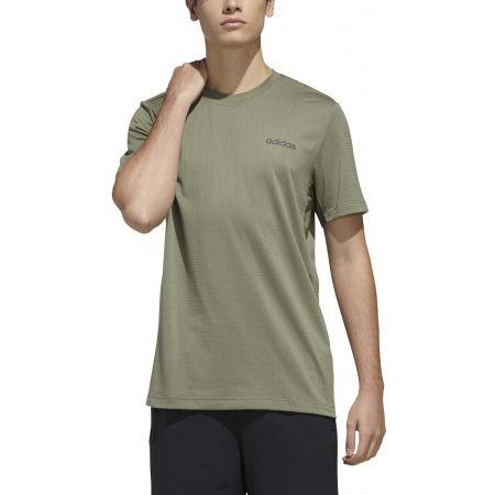 Мъжка тениска - adidas MENS FAST AND CONFIDENT TEE - 3