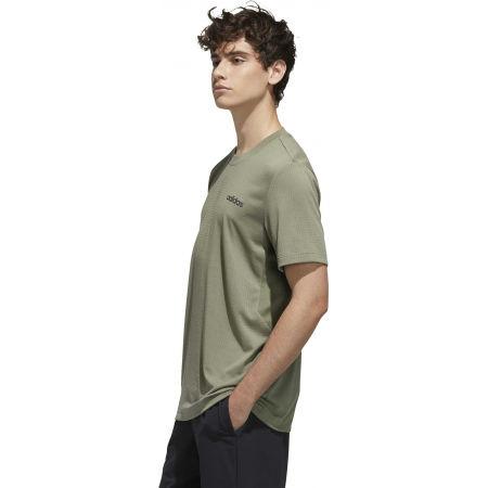 Мъжка тениска - adidas MENS FAST AND CONFIDENT TEE - 5