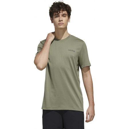Мъжка тениска - adidas MENS FAST AND CONFIDENT TEE - 4