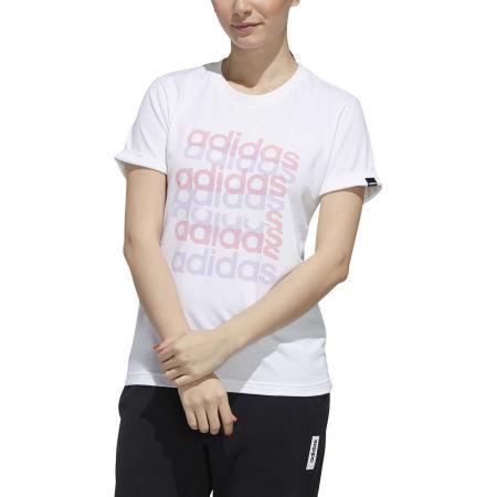 Дамска тениска - adidas BIG GFX TEE - 3