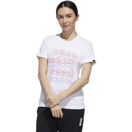 Дамска тениска - adidas BIG GFX TEE - 4