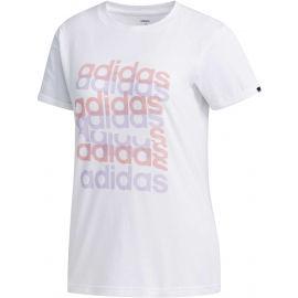 adidas BIG GFX TEE - Koszulka damska