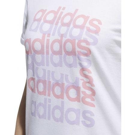 Дамска тениска - adidas BIG GFX TEE - 9