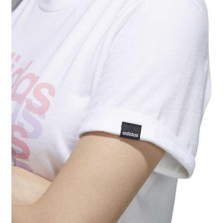 Дамска тениска - adidas BIG GFX TEE - 10