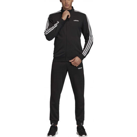 Herren Trainingsanzug - adidas TRACKSUIT COTTON RELAX - 6