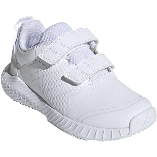 adidas FORTAGYM CF K bílá 4.5 - Dětská indoorová obuv
