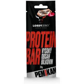 LORDYJERKY VEPŘOVÉ  PROTEIN BAR FIKY+CHILLI - Proteinová tyčinka