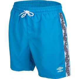Umbro TAPED SWIM SHORT - Pánske plavecké šortky
