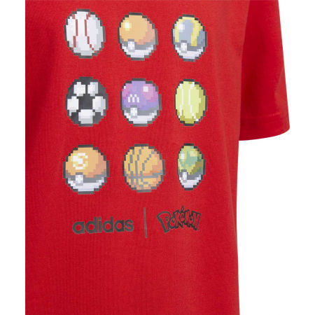 Chlapčenské tričko - adidas YB PKM TEE - 3