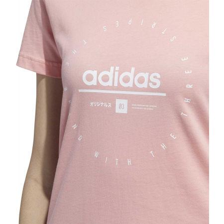 Tricou de damă - adidas W ADI CLOCK TEE - 6