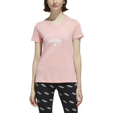 Tricou de damă - adidas W ADI CLOCK TEE - 3