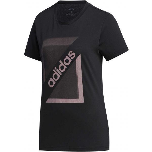 adidas CLIMA CB TEE čierna M - Dámske tričko