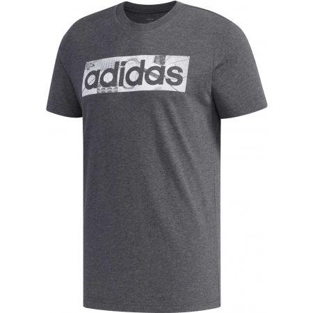 adidas BXD PHOTO TEE - Pánské tričko