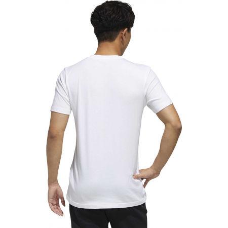 Pánske tričko - adidas STMP TEE - 7