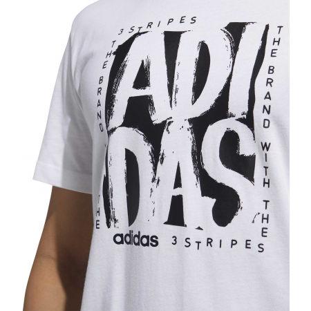 Pánske tričko - adidas STMP TEE - 8