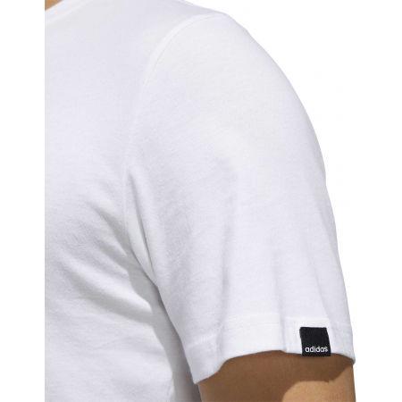 Pánske tričko - adidas STMP TEE - 9