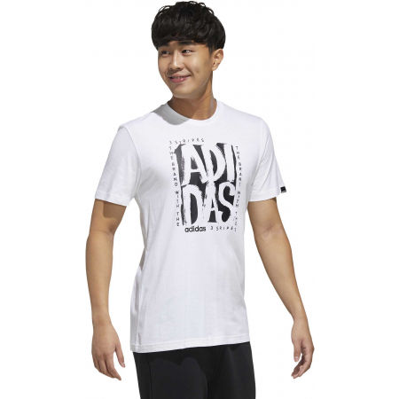 Pánske tričko - adidas STMP TEE - 6