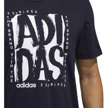 Pánske tričko - adidas STMP T - 8
