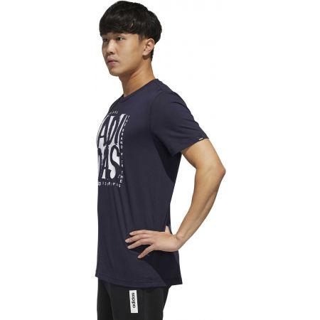 Pánske tričko - adidas STMP T - 5