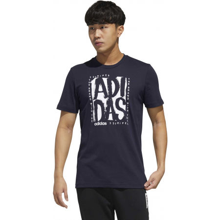 Pánske tričko - adidas STMP T - 4