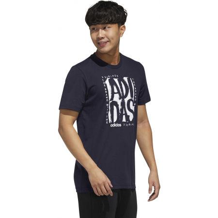 Pánske tričko - adidas STMP T - 6