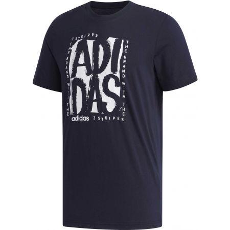 Pánske tričko - adidas STMP T - 1