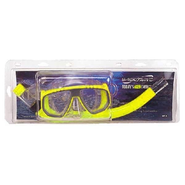 Saekodive SET MP3 żółty  - Zestaw do nurkowania