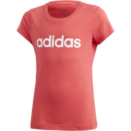 adidas YG E LIN TEE - Girls' T-shirt