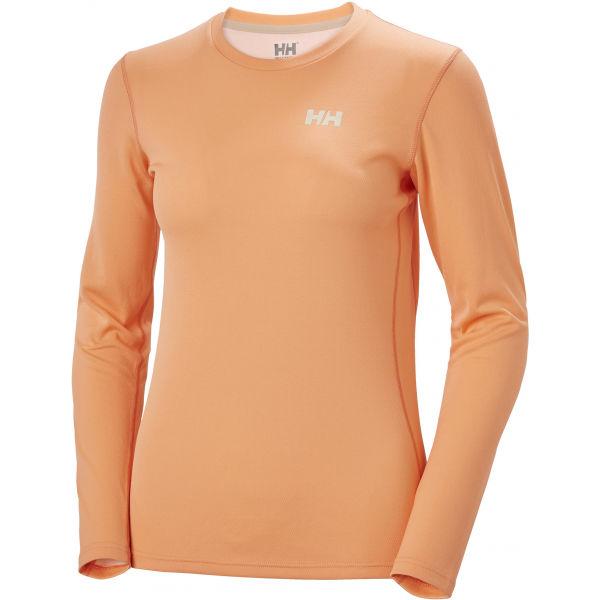 Helly Hansen LIFA ACTIVE SOLEN LS oranžová L - Dámské triko