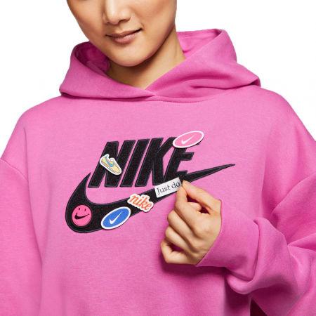 Dámska mikina - Nike NSW ICN CLSH FLC HOODIE BB W - 4