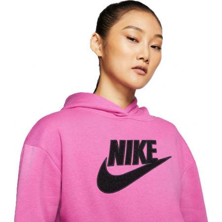 Dámska mikina - Nike NSW ICN CLSH FLC HOODIE BB W - 3