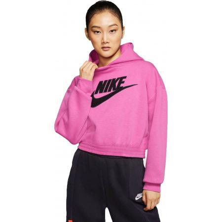 Dámska mikina - Nike NSW ICN CLSH FLC HOODIE BB W - 1