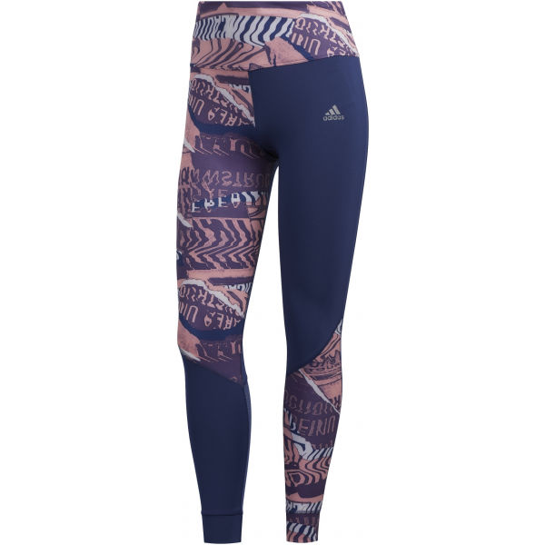 adidas OWN THE RUN TGT lila M - Női sportlegging
