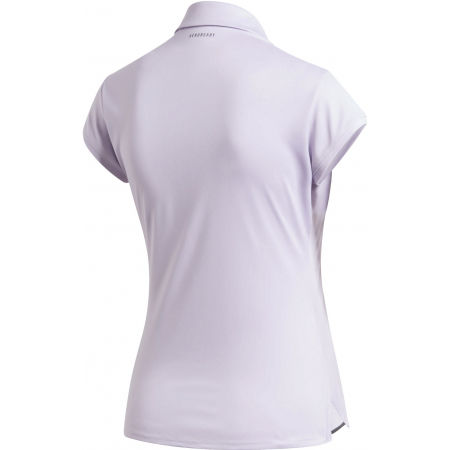 Women's tennis T-shirt - adidas CLUB 3 STRIPES POLO - 2