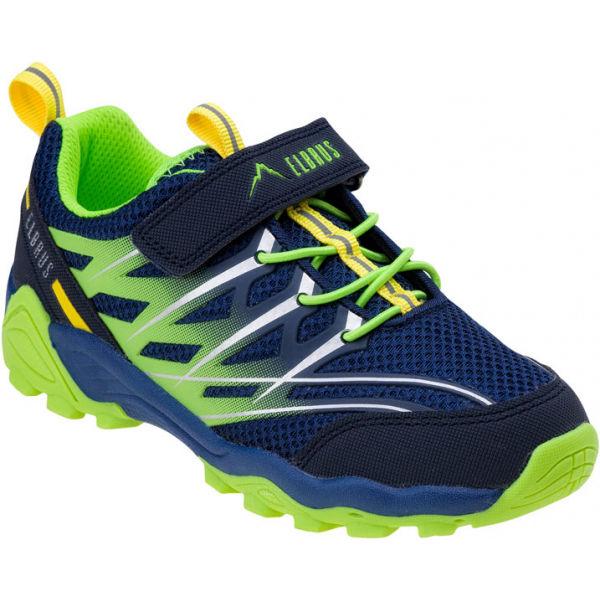 Elbrus TERRIN JR modrá 28 - Dětská vycházková obuv