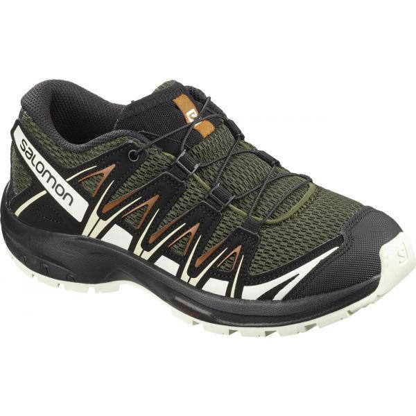 Salomon XA PRO 3D J tmavě zelená 37 - Dětské sportovní boty