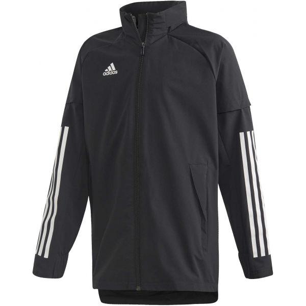 adidas CON20 AW JKT Y černá 140 - Juniorská sportovní bunda