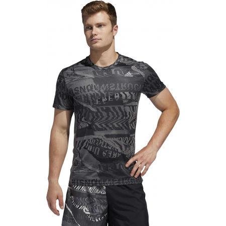 Pánske športové tričko - adidas OWN THE RUN TEE - 4