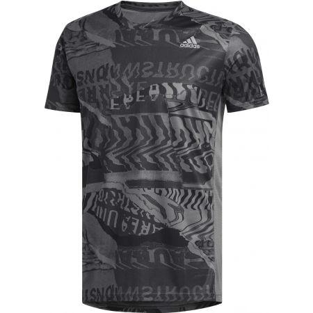 Pánske športové tričko - adidas OWN THE RUN TEE - 1