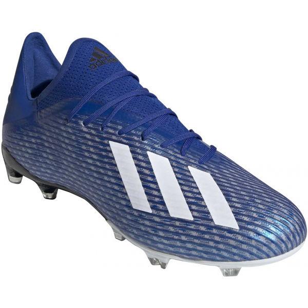 adidas X 19.2 FG modrá 10.5 - Pánské lisovky