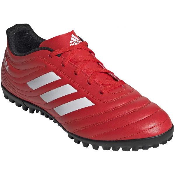 adidas COPA 20.4 TF červená 7.5 - Pánské turfy
