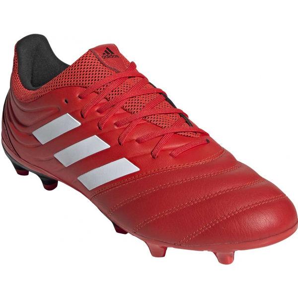 adidas COPA 20.3 FG červená 8.5 - Pánské lisovky