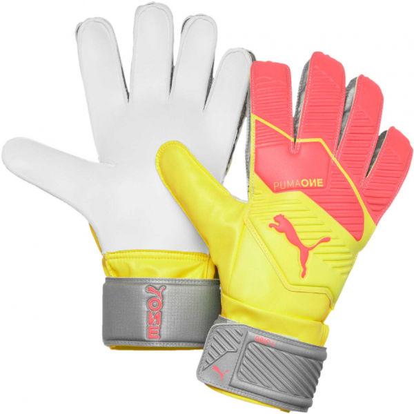 Puma ONE GRIP 4 RC oranžová 11 - Pánské brankářské rukavice